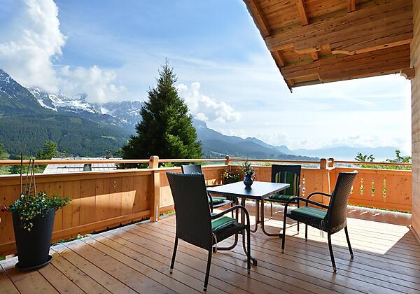 Aussicht-Bergdoktorhaus