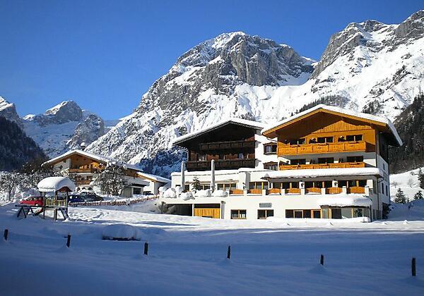 Berghotel Lämmerhof im Winter