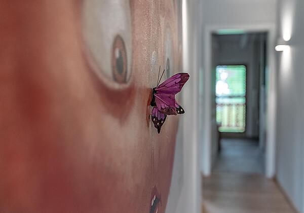 Schlafzimmer im Premium-Appartement 3