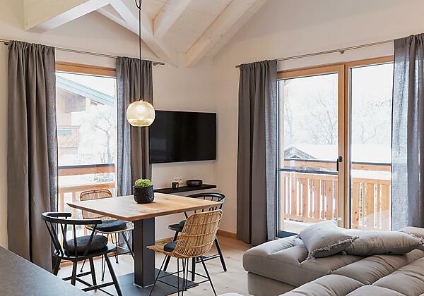 Wohnküche im Premium-Appartement 3