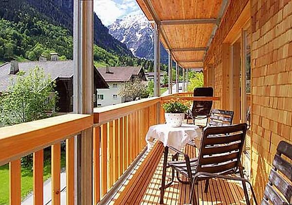 Biotel Palüd Balkon