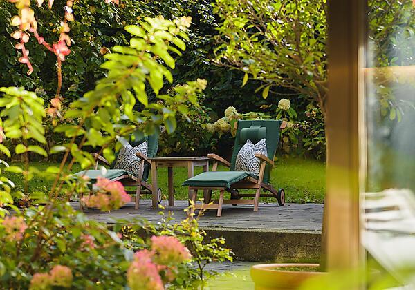 Restaurant-Terrasse & Garten