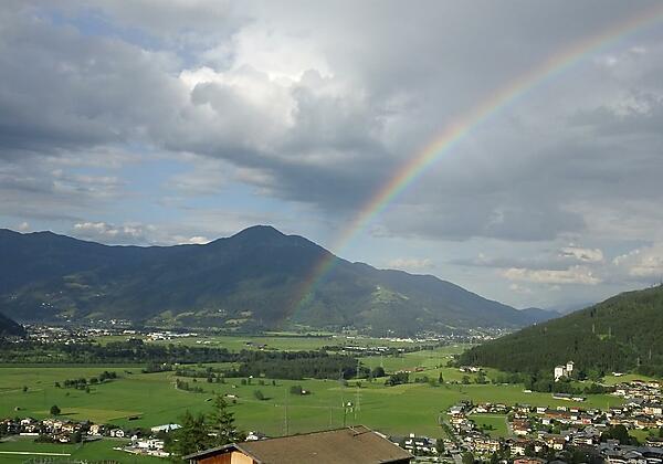 Rainbow seen from Chalet an der Piste