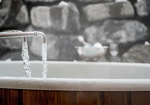 Hot Tub Lärchenchalet