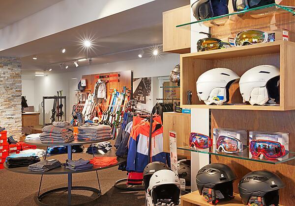 Alpenhaus - Sportshop direkt im Aparthotel