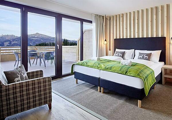 Schlafzimmer AlpenwohnenApartment