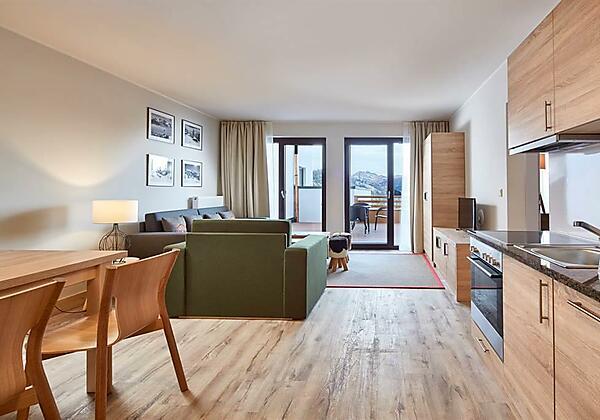Alpenwohnen - Wohnzimmer Muster