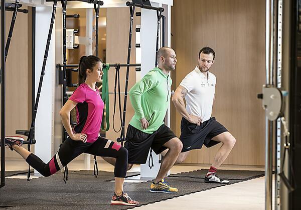 Fitness- und Aktivprogramm