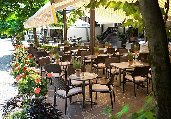 Hotel Der Schütthof Gastgarten
