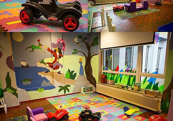 Hotel Der Schütthof Kinderspielzimmer