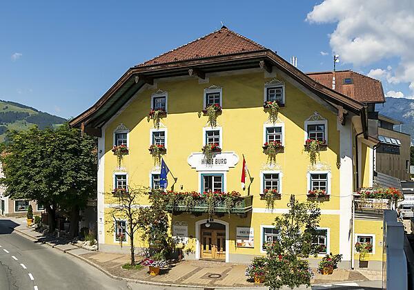 Hotel Die Hindenburg Saalfelden Haupteingang
