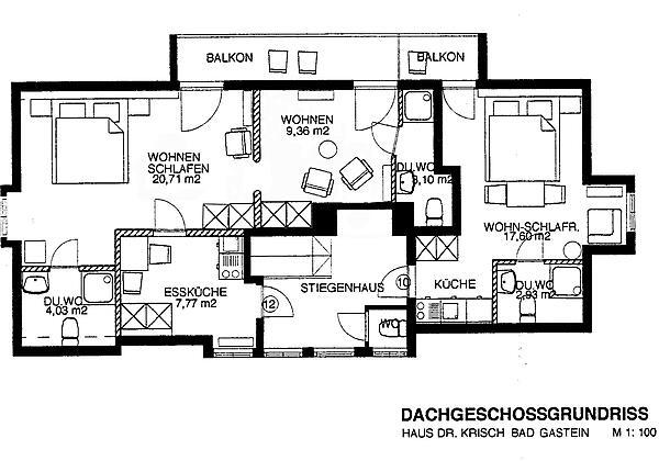 Haus Dr. Krisch Bad Gastein Zimmer 12.1