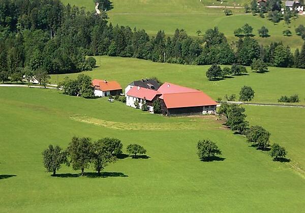 Inmitten gesunder Natur unser Bauernhof