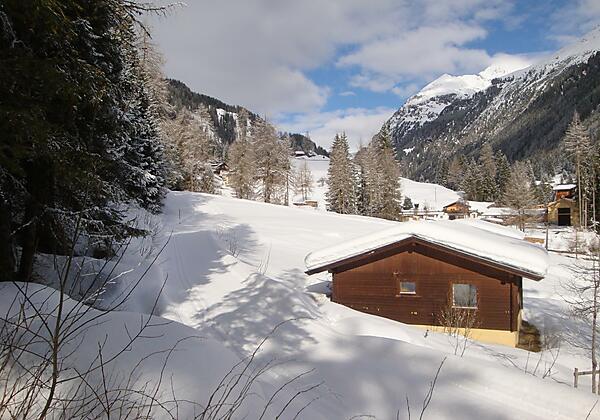 Bungalow Winterlandschaft