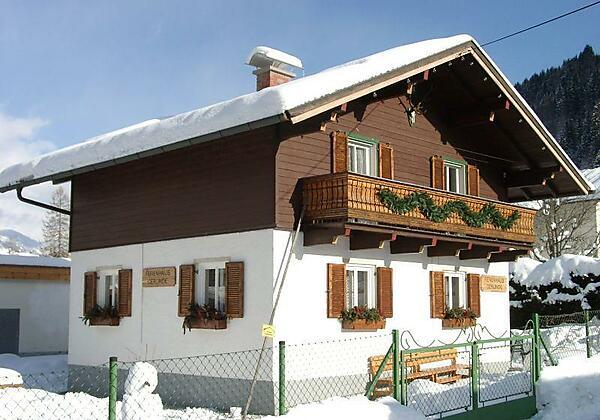 Haus Ansicht Winter