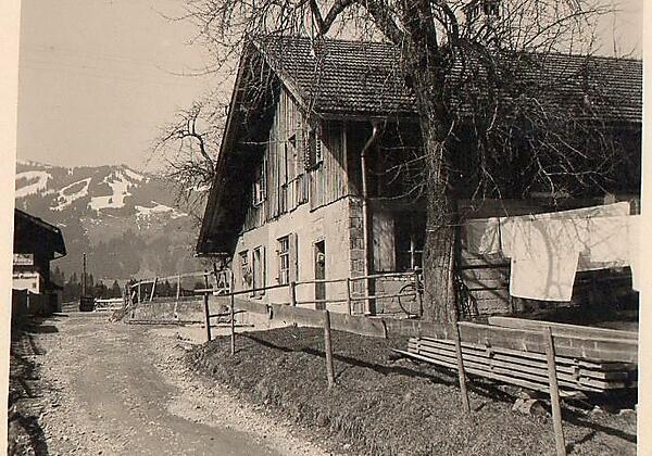 Haus Linder anno ca. 1950