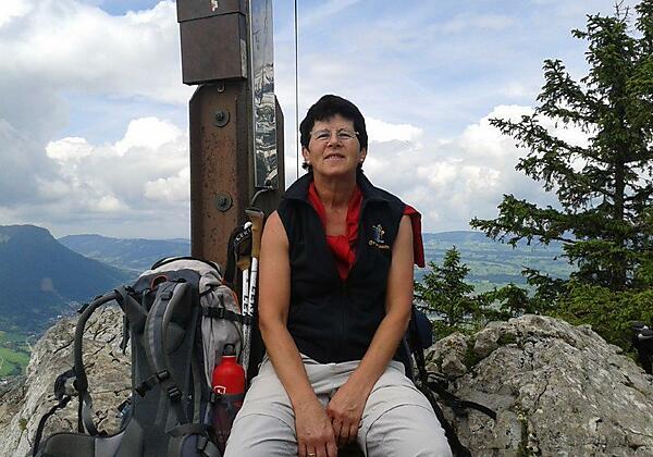 Bergsteigen mit Marlene