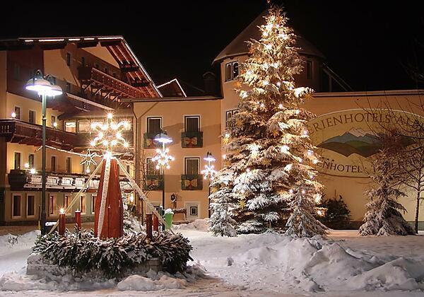 Ferienhotel Alber im Winter
