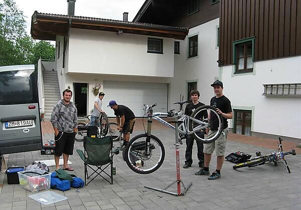 Bikeparkplatz Haus Katharina - Kopie