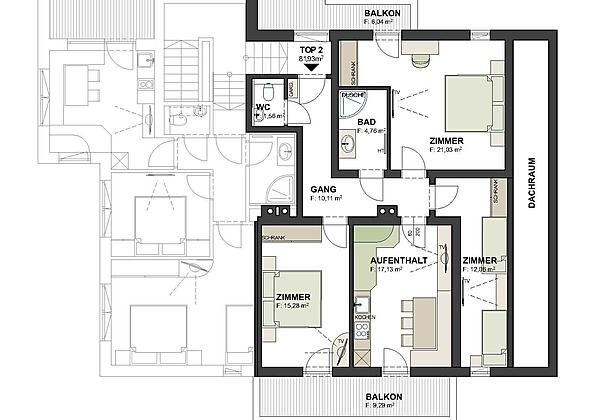 DUWC Zimmer 1-3