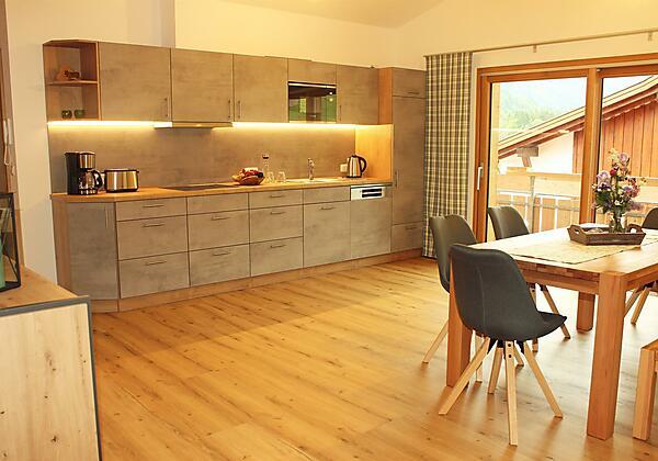 Komfortabel und komplett ausgestattete Küche