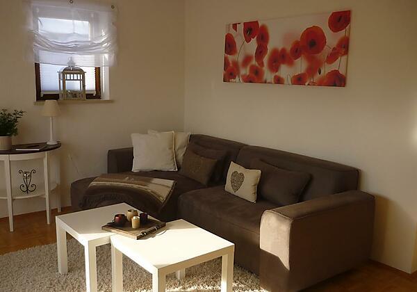 Sofa ist zum ausziehen