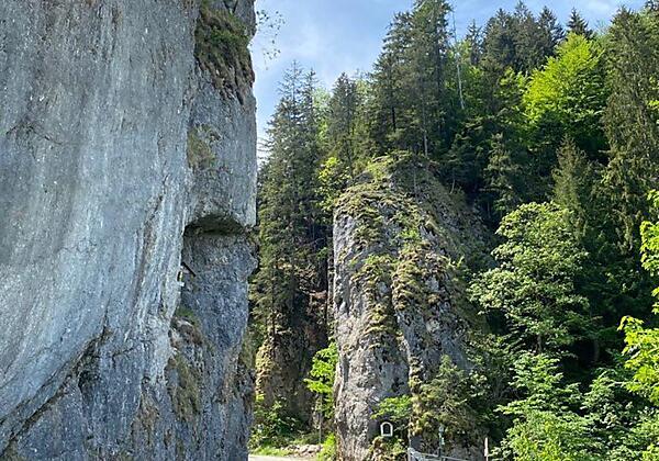 Wintertraum Ausblick Terrasse