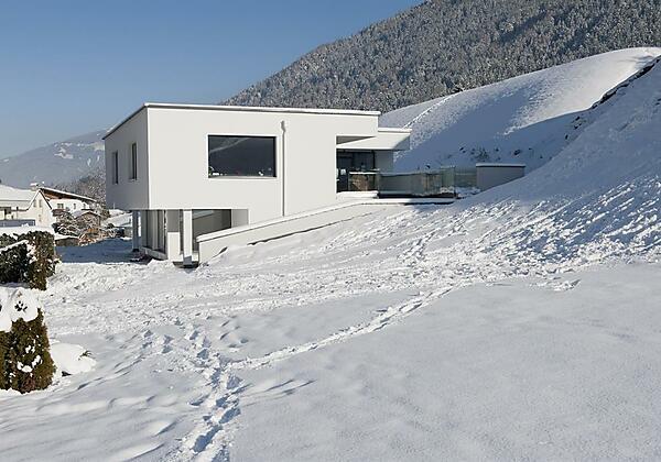 Haus Robi Hausansicht Winter
