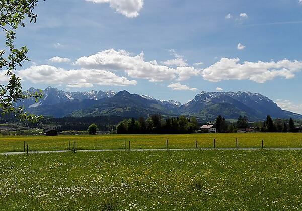 Ferienwohnung Waldesruh Ausblick Kaiser
