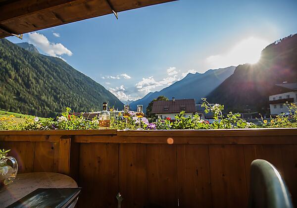 Küche Ferienwohnung Stubai