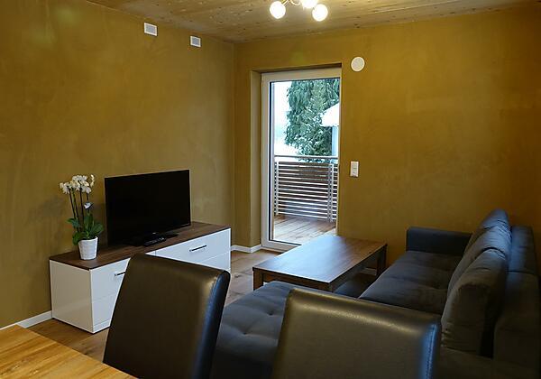 Ferienwohnung Nebelhorn - Wohnzimmer