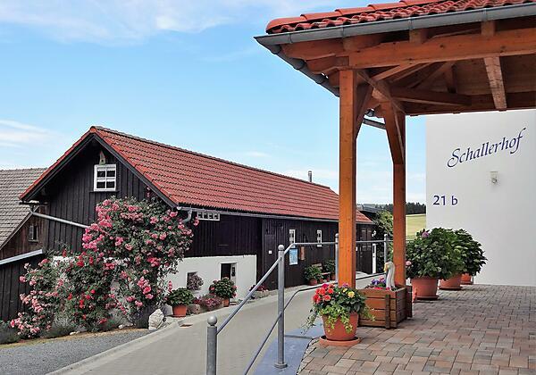 Ferienwohnungen Schallerhof Eingang