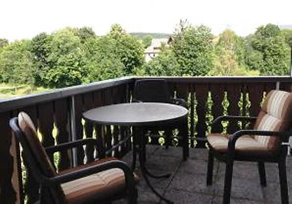 Ferienwohnung Wachter Balkon