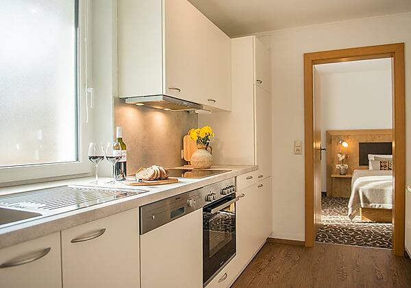 Küche-Appartement-Sonnenschein-Pension Gabriele