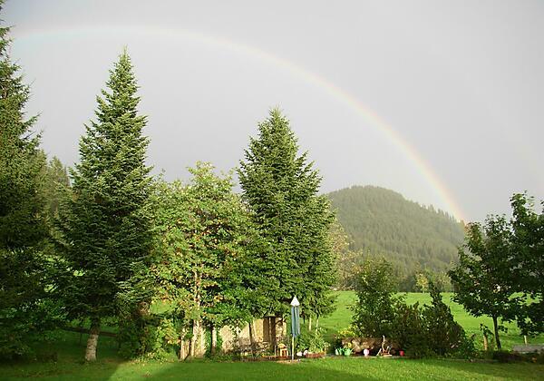 Regenbogen in Balderschwang