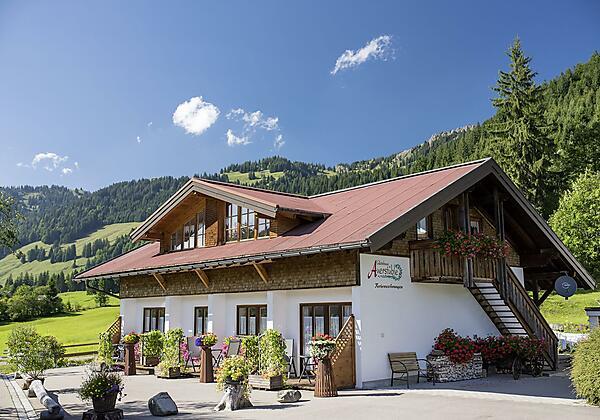 Unser Nebengebäude mit 4 Ferienwohnungen in Balder