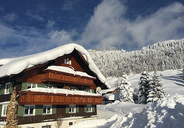 Haus Nußbaumer - Winterurlaub im Skigebiet