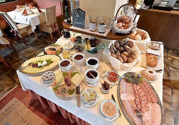 Gästehaus Rottenspacher Frühstücksbuffet