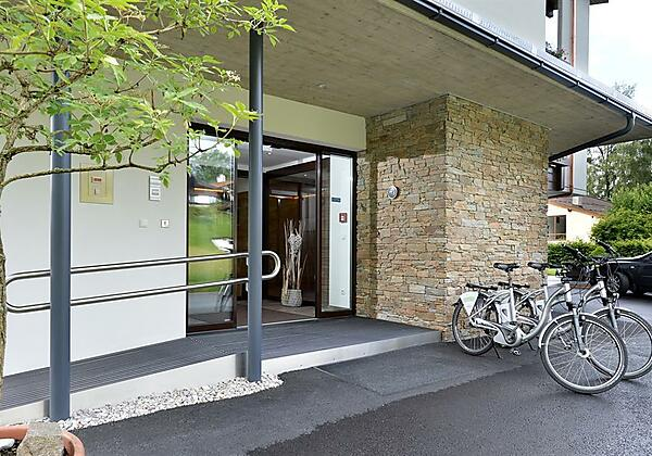 Gästehaus Rottenspacher Eingang barrierefrei