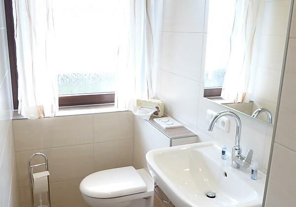 Neues Bad mit Dusche/WC