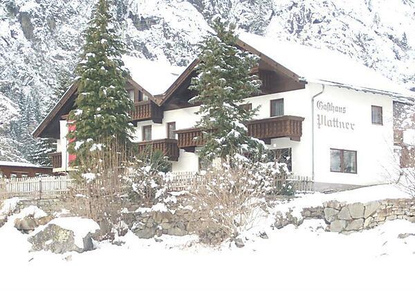 Pension Plattner im Winter