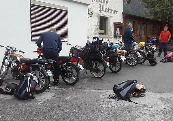 Biker sind beim Plattner herzlich willkommen
