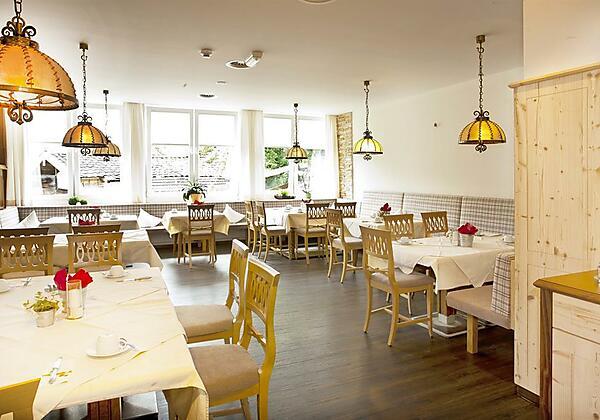 Speisesaal für Hausgäste