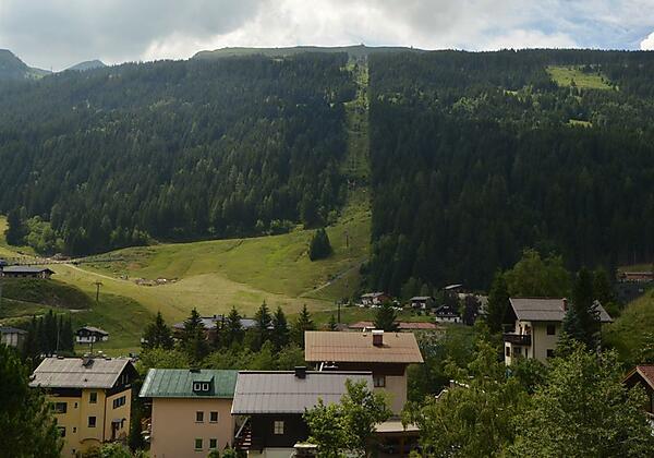 Gaestehaus-Golker-Bad-Gastein-Aussicht-Balkon