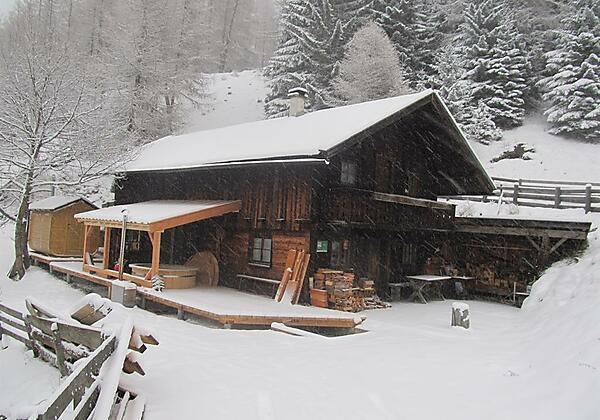 Gullenhütte Sauna Winter