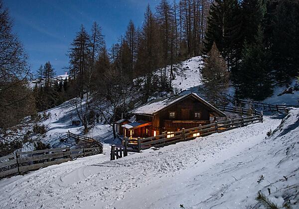 Gullenhütte Badetonne (Zuber) Winter