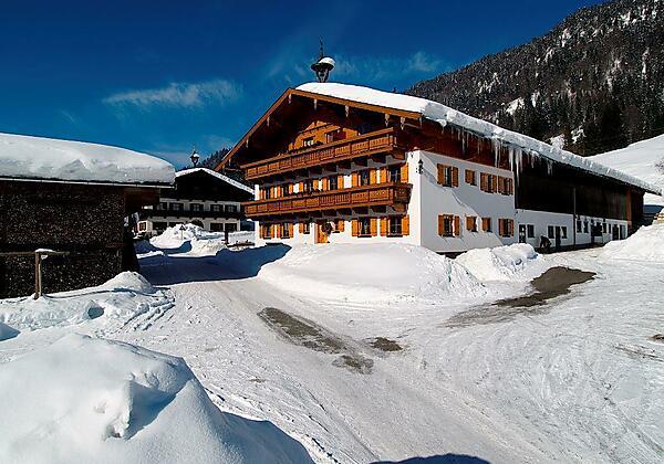 Hacklhof Winterurlaub in Kössen