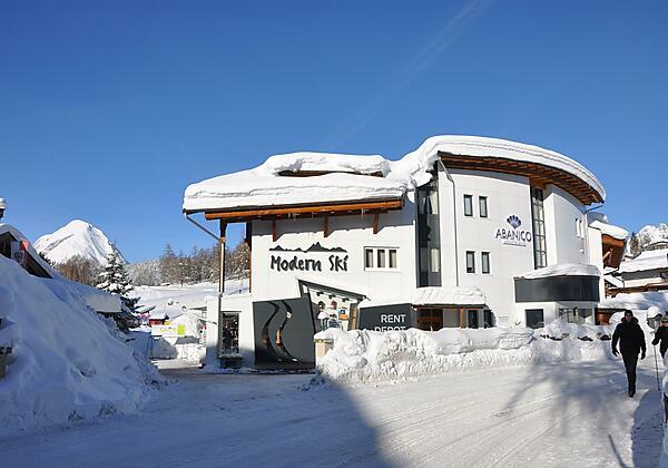 Haus Abanico & Schiverleih Modern Ski