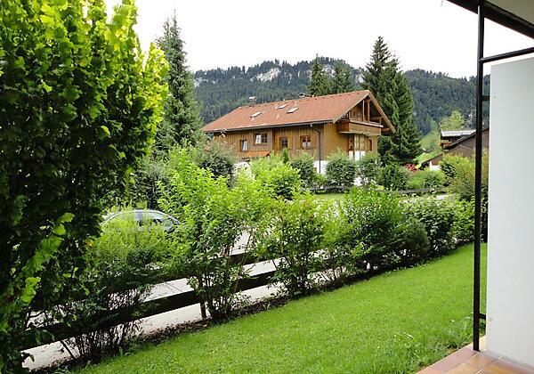 Haus Alpenland - Aussicht Terrassenwohnungen