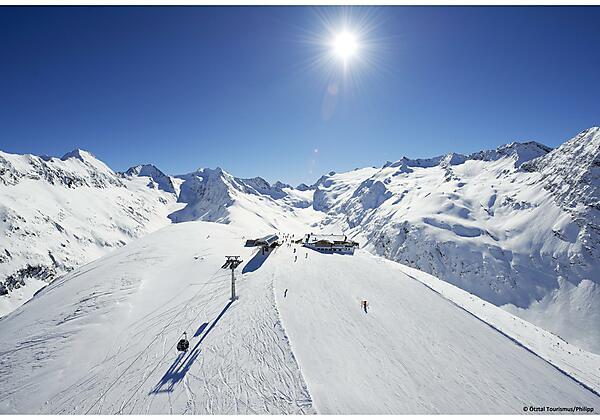 Obergurgl Skigebiet Hohe Mut